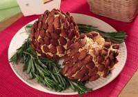 Сырные шишки с колбасой